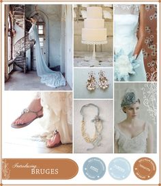 Color Palettes for wedding - bruges