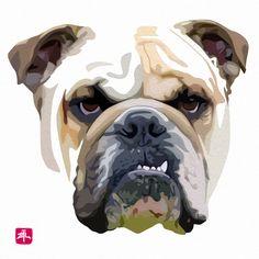 Digital portrait of Monty