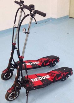 The Reddie is one of the best adult electric scooters for the size of kickboard