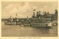 Some of the fleet from the Young's Point Navigation Company that motored the water's of Stoney Lake!