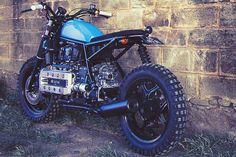 BMW K100 Street Tracker by Ed Turner Motorcycles #streettracker #motos #motorcycles | caferacerpasion.com
