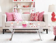 Sweetheart Shades - Red, White & Pink Furniture