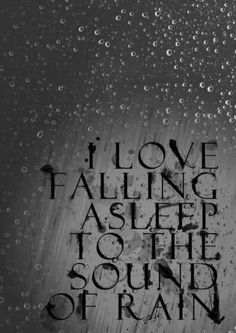 My wife and I love to get cuddled up, put on a movie and fall asleep to the rain in each other's arms! Such a peaceful and calm feeling! We love the rain! The Words, Sound Of Rain, Singing In The Rain, Rain Sounds, I Love Rain, When It Rains, Rain Drops, Rainy Days, Rainy Mood