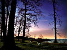 Sunset  Lake Erie  Geneva State Park  Geneva on the Lake, Ohio