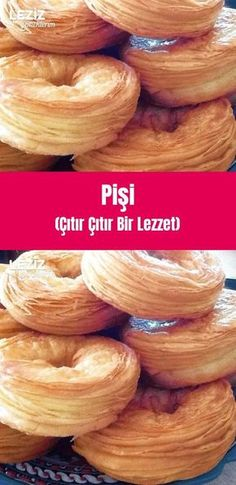 Bread And Pastries, Breakfast Items, Looks Yummy, Turkish Recipes, Food For A Crowd, Saveur, Party Snacks, Bread Baking, Bagel