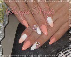 Peach - White by SanjaSt -