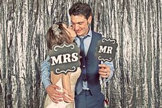 winter wedding photo booth props backdrop