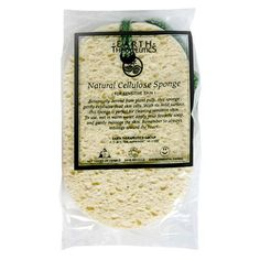 Earth Therapeutics Sponge, Natural Cellulose, 1 sponge (Pack of 3) by Earth Therapeutics. $18.55. Natural cellulose. Great for Exfoliating and Cleansing!. For sesitive skin. Botanically derived from plant pulp, this sponge gently exfoliates dead skins cells. With its mild surface, this sponge is perfect for cleaning sesitive skin. Not tested on animals. This natural plant pulp sponge is vaccum packed to seal in freshness and moisture, The condensation which may appear ...