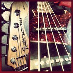 New bass.  5 string.  Fender Squier body with a jazz bass neck & Basslines pickups.  Frankenstein.