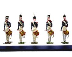 Antique Heinrichsen Toy Soldiers 19th Century by APureVintage