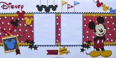 Projects using disney Mickey and Friends cartridge - - Yahoo Image Search Results Cruise Scrapbook, Disney Scrapbook Pages, Scrapbook Sketches, Scrapbooking Layouts, Scrapbook Cards, Disney Theme, Disney Fun, Disney Magic, Disney Mickey