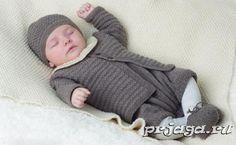 Костюмчик для малыша спицами