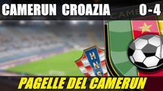 CAMERUN - CROAZIA 0-4 - MONDIALI BRASILE 2014 - 19-6-2014 - LE PAGELLE DEL CAMERUN