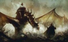 fantasy-art-engine:   Nazgul by Omer Tunc