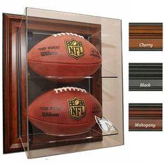 """Arizona Cardinals NFL Case-Up"""" Football Display Case (Mahogany)"""""""