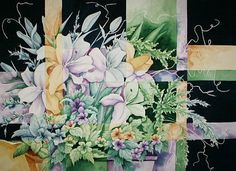 Shattered Reality VI  Limited Edition by CSchmauderWatercolor,