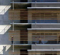 Elevation by Richard Meier .#details
