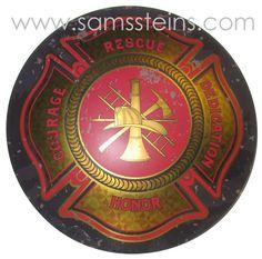 Firemen Maltese Cross Sign