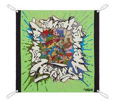 To knot or not? This isn't my favorite color or design, yet it serves a purpose: Scarves we want to display as art, yet still wear on occasion, can be accessible with Hermes magnetic scarf hanging system. Scarves with a contrasting hem look best.