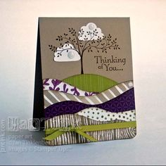 Thoughts & Prayers Fab Friday 73 by JanTInk - Cards and Paper Crafts at… Pretty Cards, Cute Cards, Diy Cards, Your Cards, Scrapbooking, Scrapbook Cards, Penny Black, Prayer Cards, Sympathy Cards