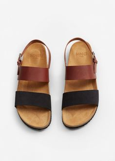 97cf30182ff4 Bio sandals with strap-Sandals and Espadrilles-Shoes-MAN