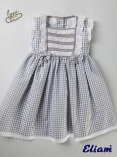 Vestido Niña de Cuadros - Primavera-Verano - Colección - Tienda de ropa infantil Eliam