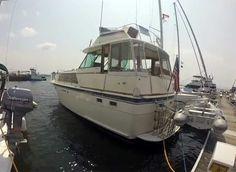 Hatteras 43 yacht for sale