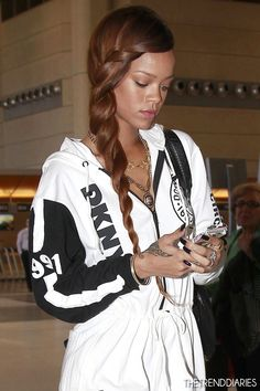 Rihanna at LAX Airport in Los Angeles, California - March 3, 2013