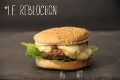 Burgers morbier et reblochon | Not Parisienne