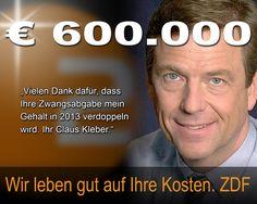 Gesellschaft Forum Gesellschaftsforum Info Diskussion Politik ZDF heute Claus Kleber Gehalt GEZ Zwang Gebühren