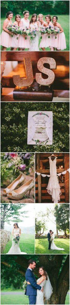 Vintage Rustic Wedding Rustic Forest Wedding, Woodland Wedding, Wedding Weekend, Wedding Day, Wedding Stuff, Wedding Photos, Pink Wedding Theme, Wedding Pinterest, Outdoor Wedding Venues