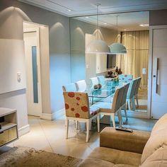 Inspiração sala de jantar! #decor #aperyeana #nossoape #apartamentopequeno #saladejantar