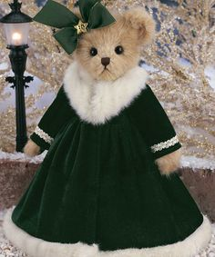 Take a look at this Forest Green Virginia Pine Plush Toy by Bearington Collection on #zulily today!