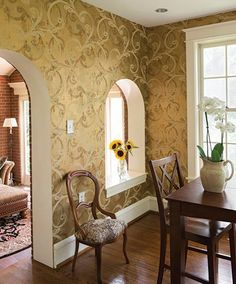 Susquehanna Style - Wallpaper Inspiration - York Wallpaper Makeover - Home Decor - Fall Home Decor