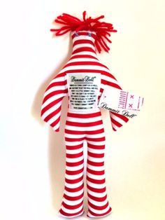 12 for sale online Dammit Doll, Stress Reliever, Red Stripes, How To Relieve Stress, Dolls, The Originals, Ebay, Baby Dolls, Puppet