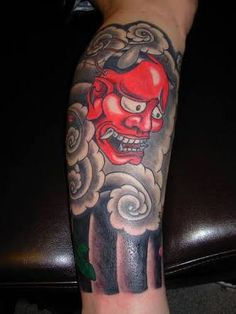 Image result for japanese calf tattoo