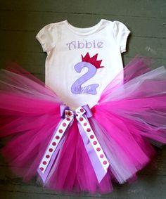 Princess birthday outfit.  $35