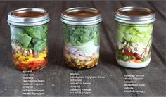 The Italian Dish - Posts - Salad inJars