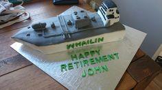 Gas carrier ship cake