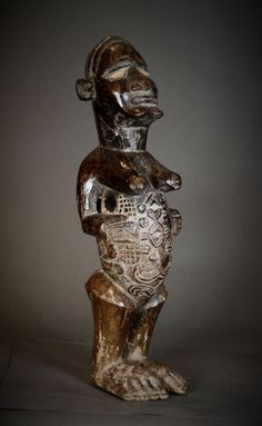 Nu in de #Catawiki veilingen: Huge BEMBE or BABEMBE Power Figure. Democratic Republic of the Congo.