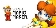Princesa Daisy hace su aparición en Mario Maker