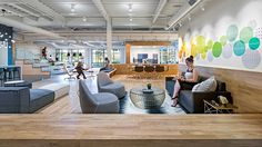 """As California's largest Herman Miller dealer, Pivot sought a new headquarters and showroom to embody its core values, conveying a sense of """"home""""..."""