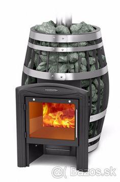 Kvalitné Wellnessové saunové pece pre parnú saunu. - Česká republika, predám Wood Mantle Fireplace, Stove Fireplace, Modern Fireplace, Fireplace Design, Sauna Design, Cabin Design, House Design, Wood Stove Heater, Bbq Shed