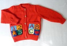 Handmade wool sweater, 2T, $12.00
