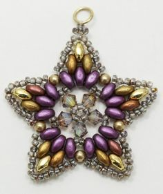 Deb Roberti's FREE Starlight Ornament pattern.