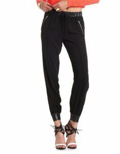Zip Pocket Woven Jogger Pant