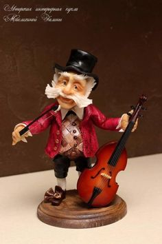 The gnome is made of sugar paste. Covered with special varnishes so that neither light nor dust, nor water him scary! Can live quietly on the open shelf Cello – handmade, wood. Sugar Paste, Gum Paste, Cupcake Cookies, Cupcakes, Cake Icing, Cello, Celebration Cakes, Cake Designs, Amazing Cakes
