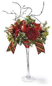 rustic Christmas floral arrangements - Google Search