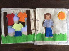 Libro tranquilla del bambino di RichesandRoses su Etsy