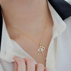 SuYeon Shine Key Necklace $12.00